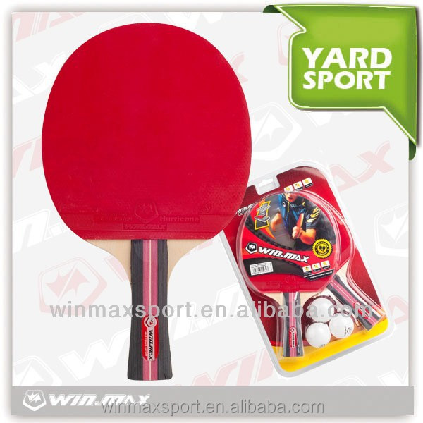 3 stars table tennis racket set/Promption Cheap 3 Stars Long Handle Table Tennis Racket on sale