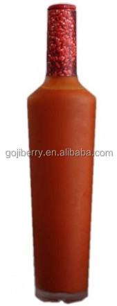 Manufacturer Supply High Quality 500ml Bottle Packing Goji Juice