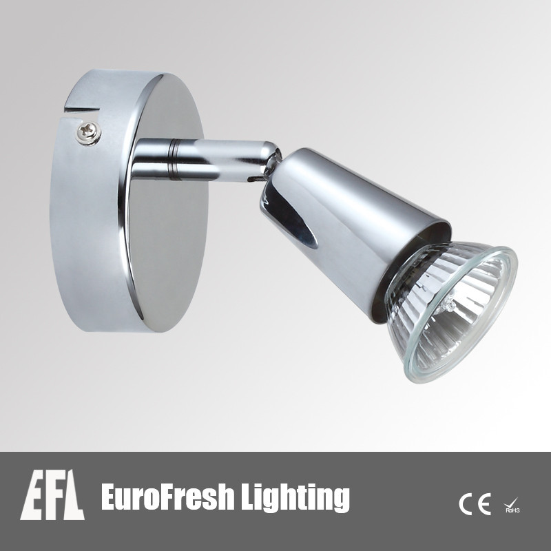 2015 035 Cup Brushed Chrome 1 lamp Ceiling Spotlight Bar LED Bulbs with cheapest price made in China