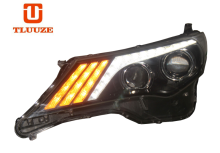 TLZ 2013-2015 TOYOTA RAV4 (with daytime running) Q5 double optical lens xenon LED headlight assembly