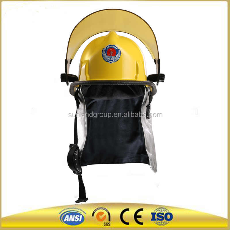 hign performance plastic hole fire helmets and hat