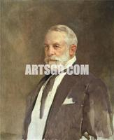 Gerald Kelly - Portrait of Henry Clay Frick, 1924 Contemporary Decorative Painting