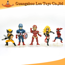 ISO9001 Hot Toys Making 5cm Super Hero Action PVC Plastic Figure