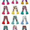 Wholesale Girls Pants Icing Ruffle Pants