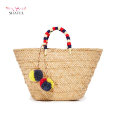 Factory Price Unique Modern Ladies Knitted Bags HandBag
