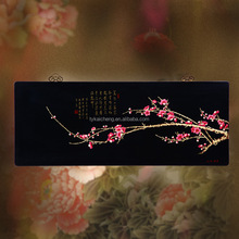 Classic Style Custom Luxury Handmade Wooden Lacquer Hanging Board Used Art Crafts for Wall Painting or Home Decoration