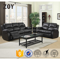 Living Room Furniture Modern Leather Sofa