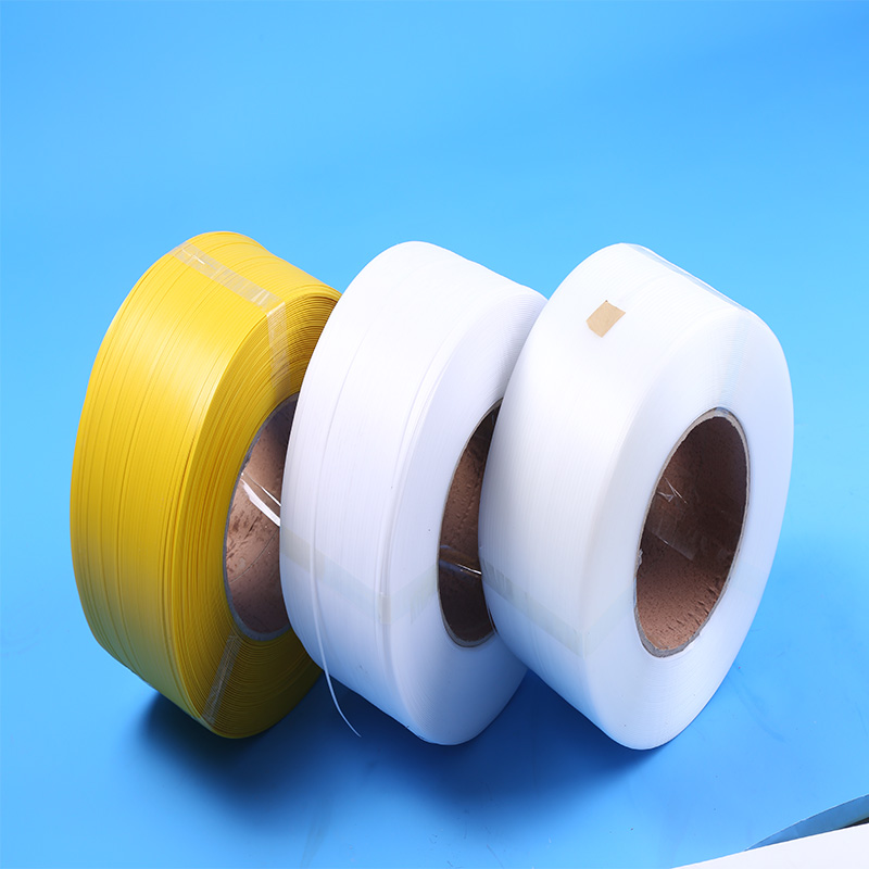 SGS Certificated 5mm white pp bundle strap
