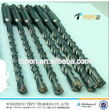 6*160mm cross head double-flute SDS Plus Hammer drill bits