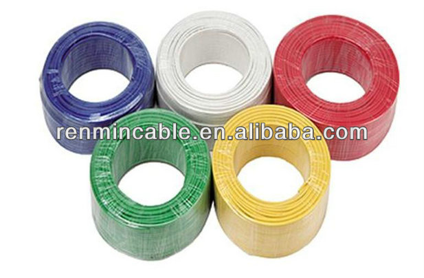 450/750V copper conductor pvc Insulated heat resistant insulation for electrical wire