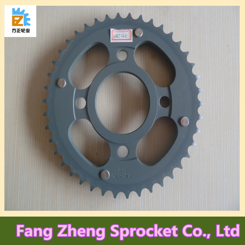 42T Motocycle Chain Sprocket Made in China