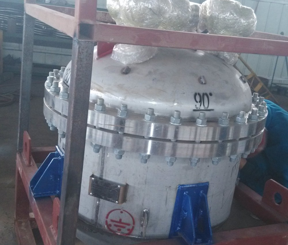 ASME quality stainless steel jacket reactor