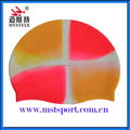 Silicone material wholesale custom swim caps