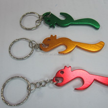 SHC-95 Hot Selling Cheap Metal Keychain Screw Top Bottle Opener