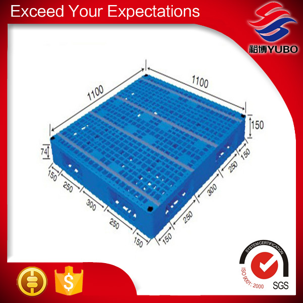 Heavy duty plastic pallet for racking &stacking