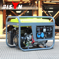 Bison (China) New Type 2.8kw 2.8kVA Single Phase Strong Frame Home Use Gasoline 220V 230 Volt Generator