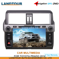 Car multimedia 8Inch Navigation GPS DVD for toyota Prado 2014 CE FCC ROHS