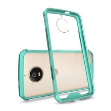 Premium Hybrid Protective Frost Clear Case for Moto G5S 5S plus ase Cover