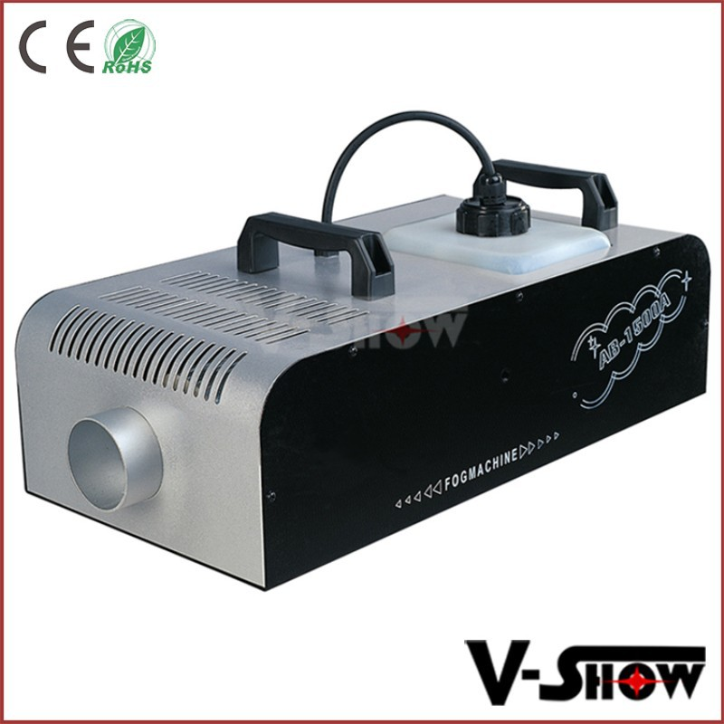 Smoke effect machine remote control 1500w fog machine for wedding party disco
