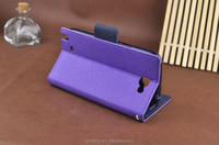 Wallet Style Cell Phone Leather Magnetic Card Holder Case for Blackberry 8520 9320 9720