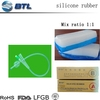 Mix Ratio 1 1 Silicone Rubber
