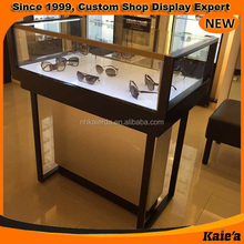 high end design sunglass glass display case