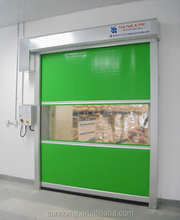 Shanghai Suncome motorized polycarbonate roll up doors