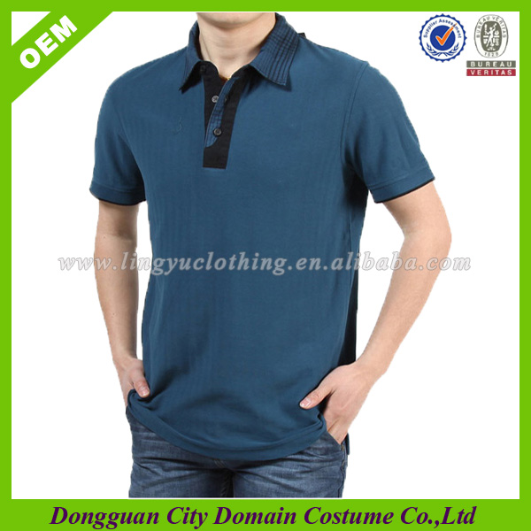 Mens superior blank dri fit polo shirt with labels cnt fabric