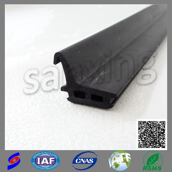 building industry extrusion silicone epdm rubber sealing strip for i for door window