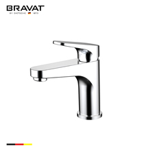 Bravat brand type of bathroom water tap 2017 contemporary new design F1191238CP-RUS