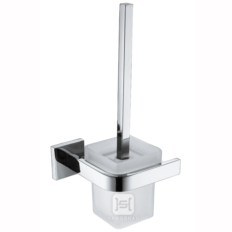 square toilet brush holder/toilet brush with holder