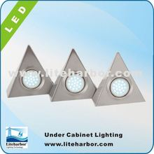 China Manufacturer 4.5W 3 Piece Triangular china made energy saving G4 led puck light price