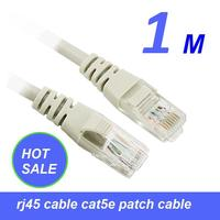 Big Promotion High quality lan patch cord cat5e 1m utp with competitive price