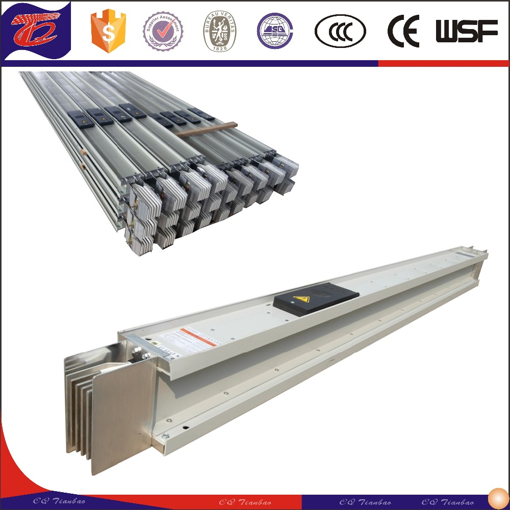 Inuslated Aluminum & Copper Power Distribution And Transmission Busbar Trunking/busduct System