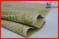Snake skin print cotton poly spandex twill fabric