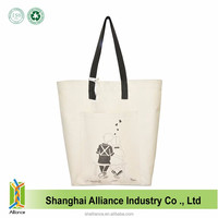 Customized Tote Eco Friendly Original Natural 100% Cotton 12Oz Canvas Bag