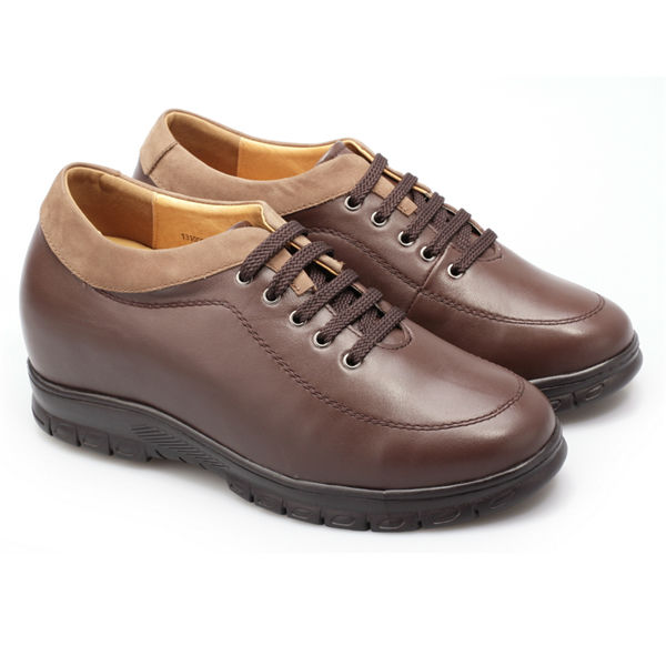 Bulk wholesale Leather Men Elevator Shoes/casual shoe for man