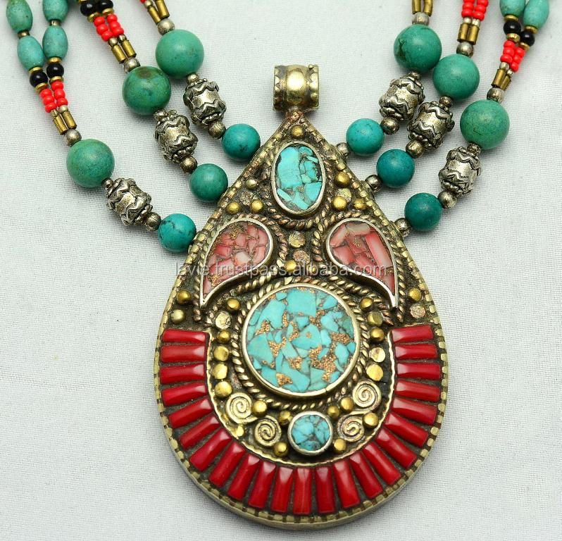 Tibetan Beautiful Charm Fashion Necklace Jewelry Vintage Necklace, Unique Jewelry