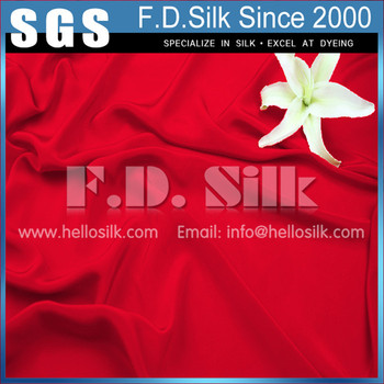Hellosilk manufacturing brand new commercial indian dupion silk
