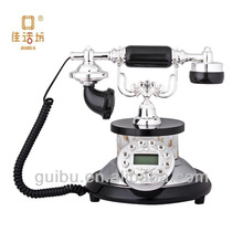 home decor marmor antik telefon