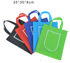 Various Color Reusable Foldable Wallet Shape Non-woven Lady Hand Shopping Bag