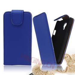 Lowest price!!! in stock case top open flip leather case for samsung galaxy s4