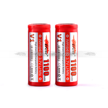 Fast Track Battery 3.7v Efest Red IMR 18490 1100mah Rechargeable Battery