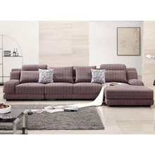 Luxury full of cotton fashion couch leather reclinable sofa online hot sale