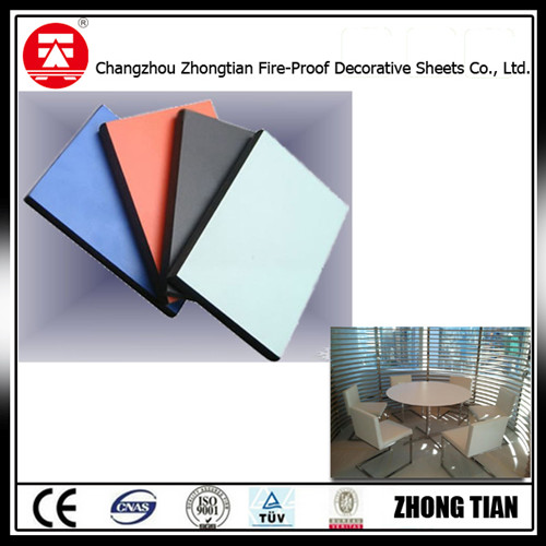 table top compact laminate hpl panel Decorative High-Pressure Laminate sheets