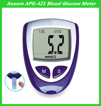 Manufacture High Quality With Free 50 pcs Test Trips Digital Blood Glucose Meter New