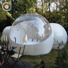 Outdoor funny inflatable clear dome tent inflatable bubble tent for rent