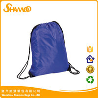 Hot sale!!! custom nylon drawstring mesh backpack bag factory
