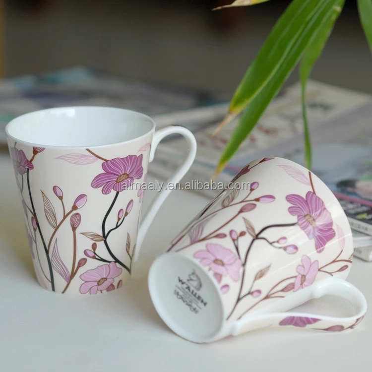 wholesale white mug,paintable ceramics mug,smart mug