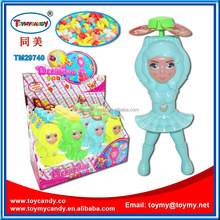 handdle beautiful doll fan toy candy